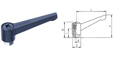 A03 KASSNER-Hebel verstellbar Form A