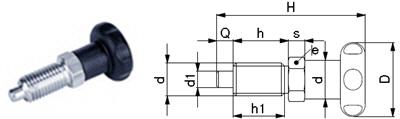 L01-AX Rastbolzen