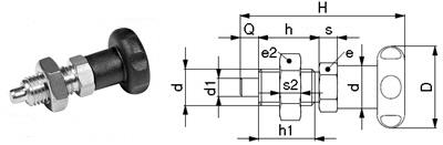 L01-BX Rasterbolzen