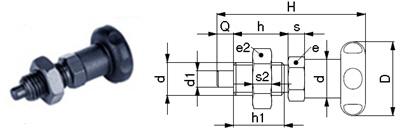 L01-B Rastbolzen