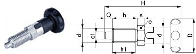 L02-AX Rastbolzen